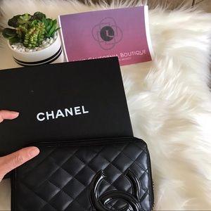 100% Authentic chanel Zip wallet
